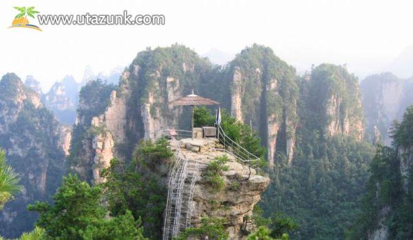 A Tianzi-hegy Kínában