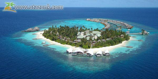 A gyönyörűséges Maldív-szigetek