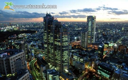 A nyüzsgő Tokio
