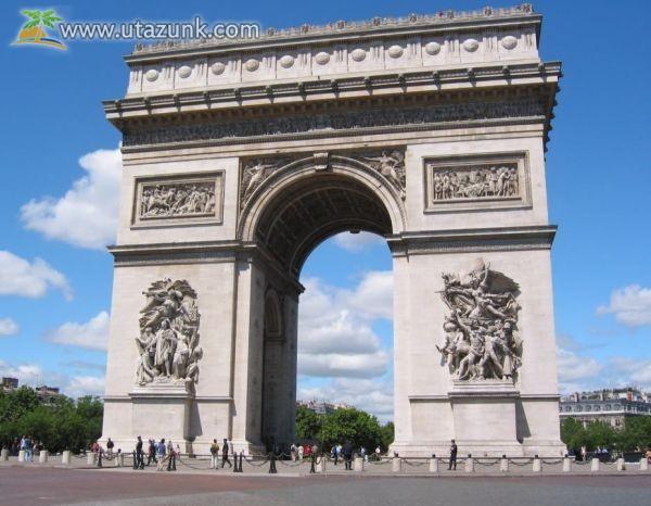 A párizsi Diadalív - Franciaország