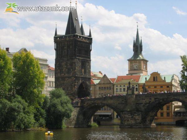 Az Óvárosi Hídtorony Prágában