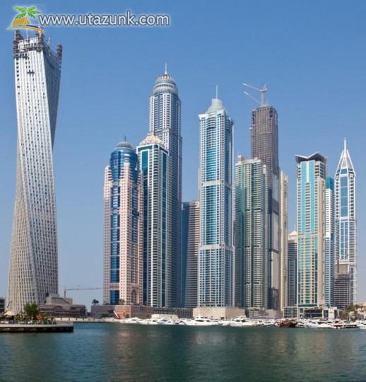 Dubai felhőkarcolók