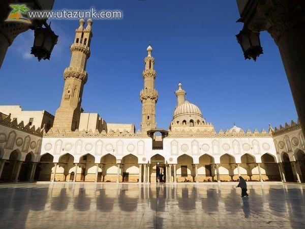 El-Azhar-mecset Kairóban - Egyiptom