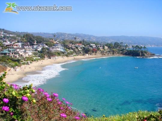 Kalifornia gyönyörű partja