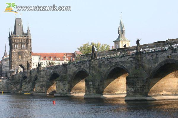 Károly híd Prágában - Csehország