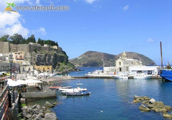Lipari-szigetek - Olaszország
