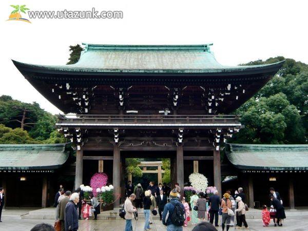 Meidzsi szentély Tokióban - Japán