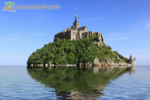 Mont Saint-Michel apátság - Franciaország