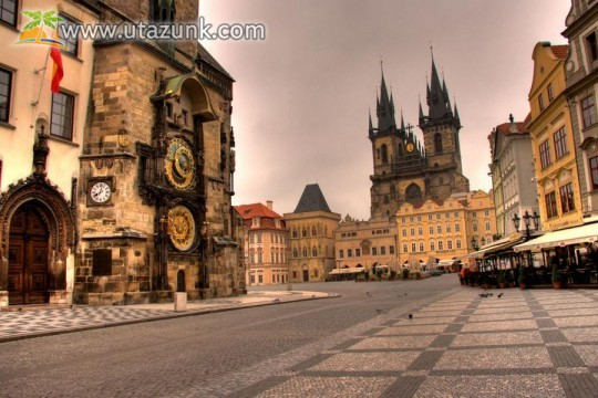 Prága belvárosa