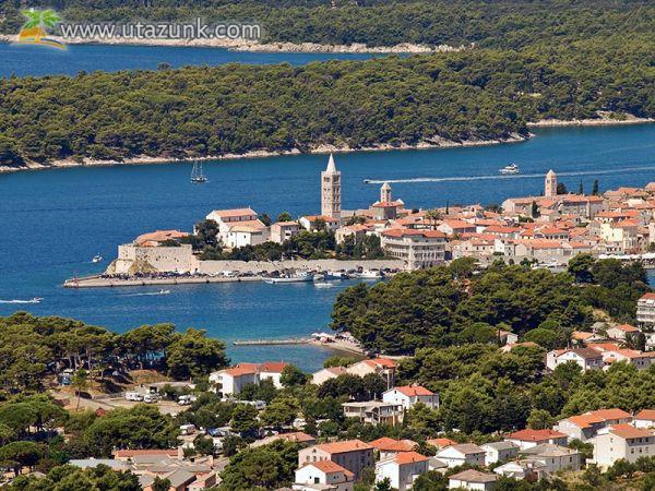 Rab-sziget - Horvátország