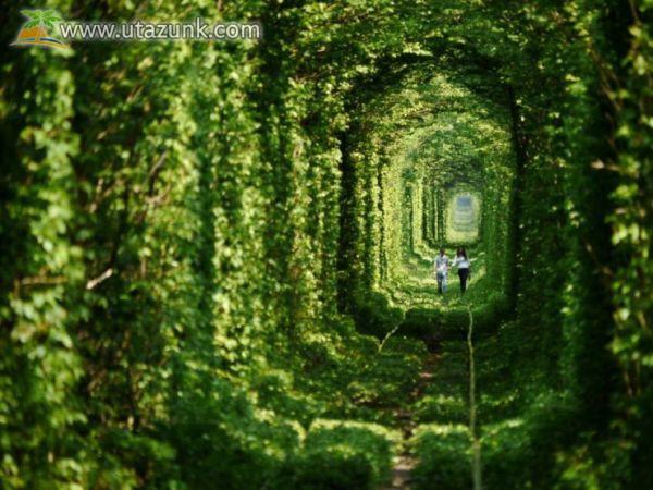 Szerelem-alagút Ukrajnában