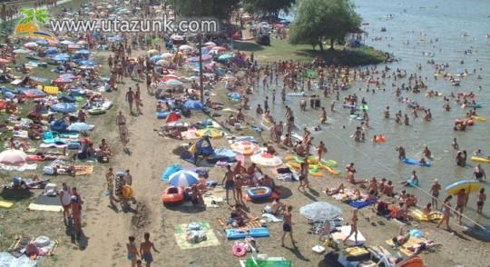 Tisza-tó, Abádszalók