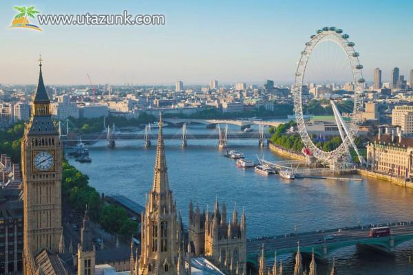 Temze folyó, London, London Eye