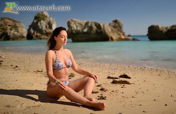 Jóga a tengerparton