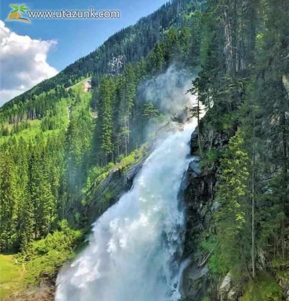 Hegyi forrás - vízesés