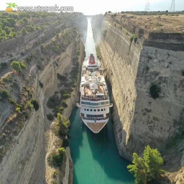 Tengeri szoros, hajó tranzit