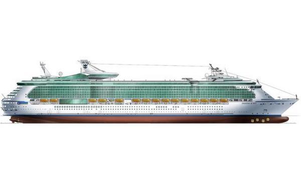 A világ legnagyobb hajója ilyen lesz!