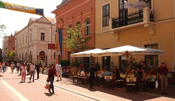 Nyári hangulat Szegeden