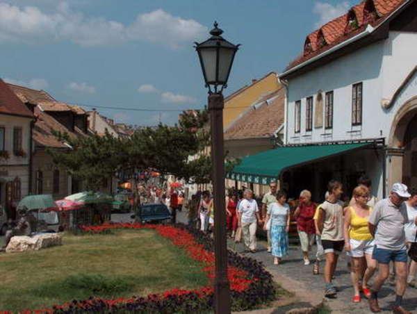 Dobó utca Egerben