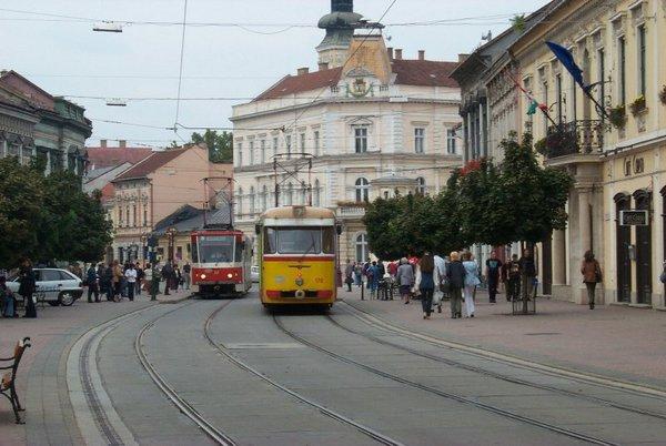 Miskolc belvárosa