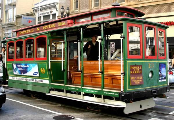 San Francisco villamosa