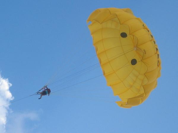 Siklóernyõs repülés