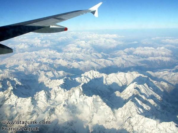 Francia-Alpok repülõbõl