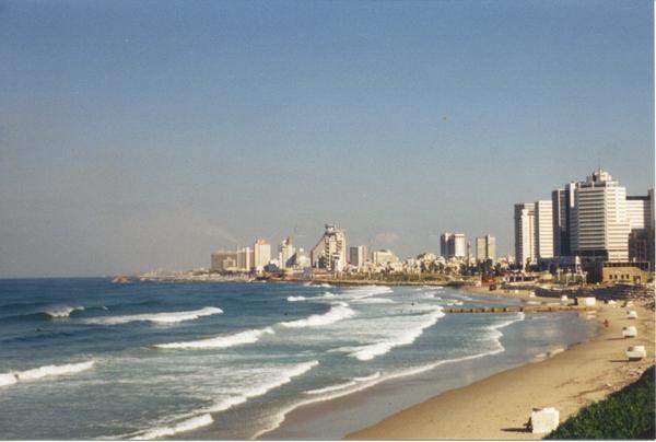 Tel-Aviv tengerpartja