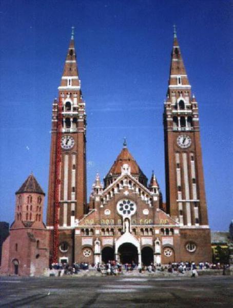Szeged, Dóm tér (itt rendezik meg a Szegedi Szabadtéri Játékokat)