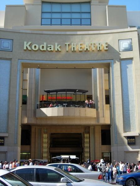 Az Oscar díj átadásának helye a Kodak színház