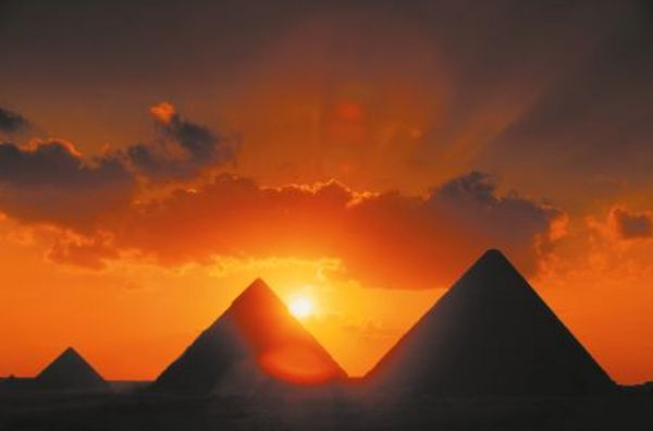 Naplemente Kairóban