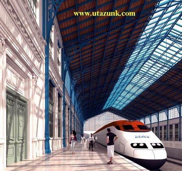 A Nyugati pályaudvar - a jövõ