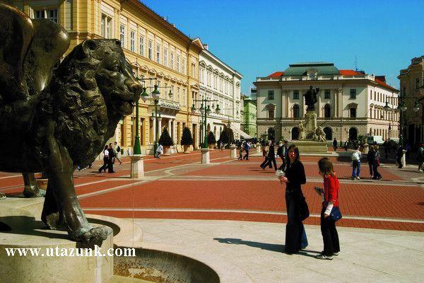 Klauzál tér Szegeden