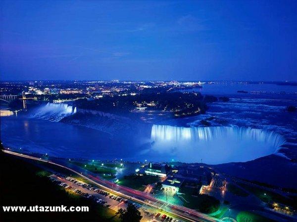 A Niagara vízesés Kanadában
