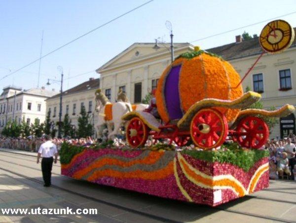 Virágkarnevál Debrecenben