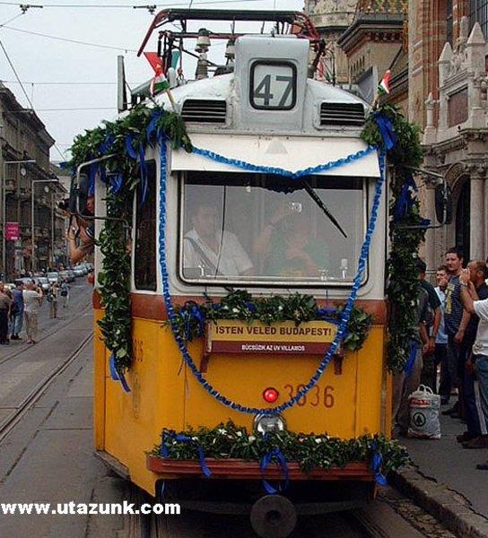 Az utolsó UV villamos, utolsó útja Budapesten
