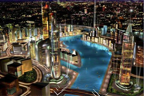 Dubailand, ahol csak a luxus létezik