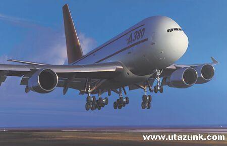 A világ legnagyobb utasszállító gépe