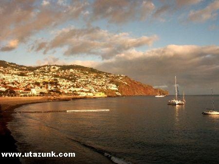 Vihar elõtti csend Madeirán