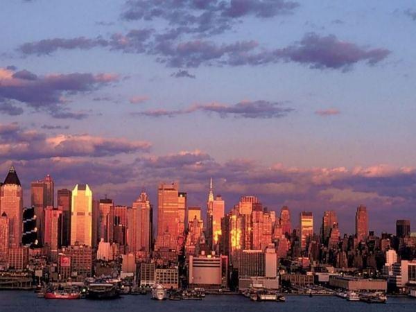 USA - New York City esteledik :-)