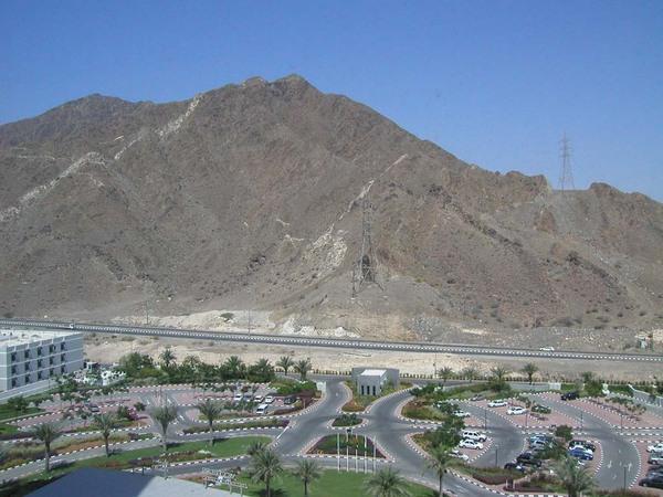 Dubai hegyvidék!
