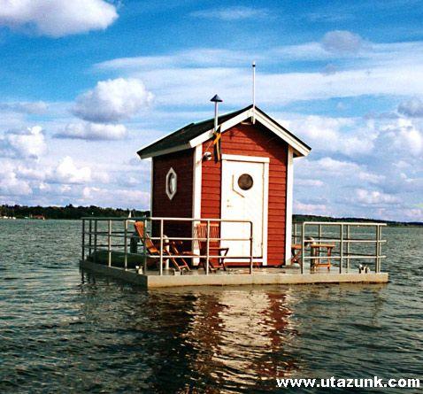 Utter Inn Hotel: Bejárat a víz felett, szoba a víz alatt