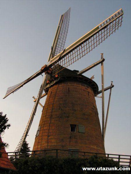 Szélmalom Hollandiában