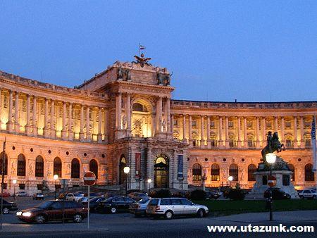 Bécs, császári palota