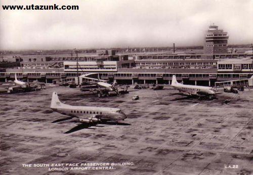 London Airport a múlt század közepén