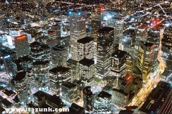 Torontó éjjel (Canada)