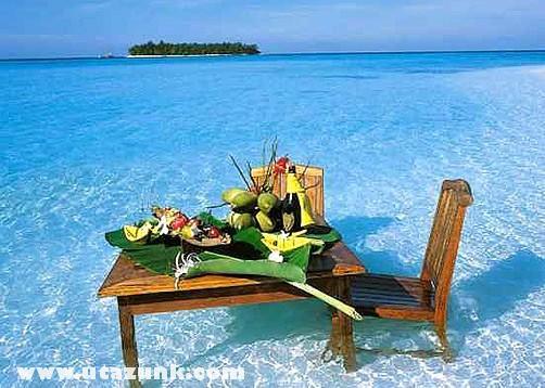 Egy ideális ebéd helyszíne...
