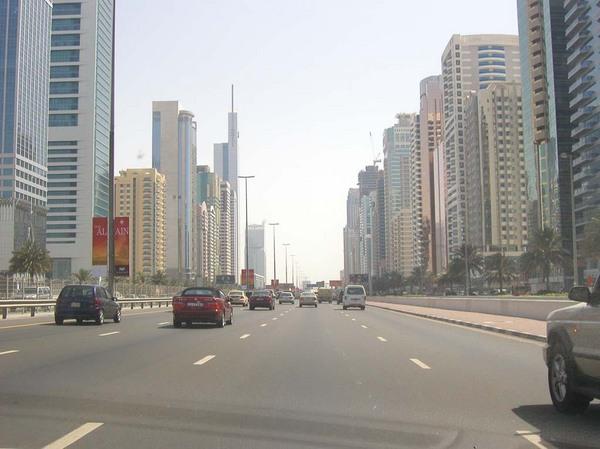 Dubai a belváros.