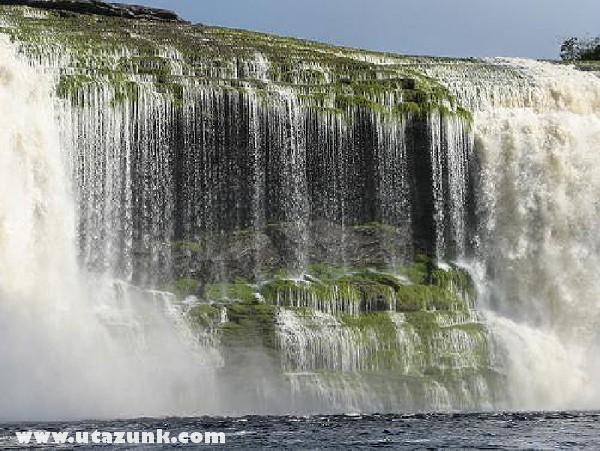 Vízesés Peruban