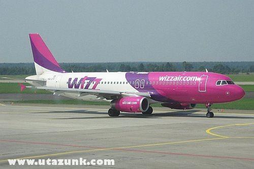 Wizz Airbus Ferihegyen